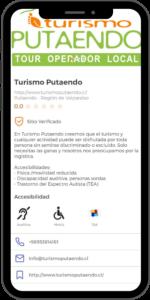 Ejemplo de Operador Turístico en Accesapp